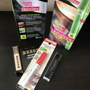 Bundle lot -  gloss treatment, primer, mascara